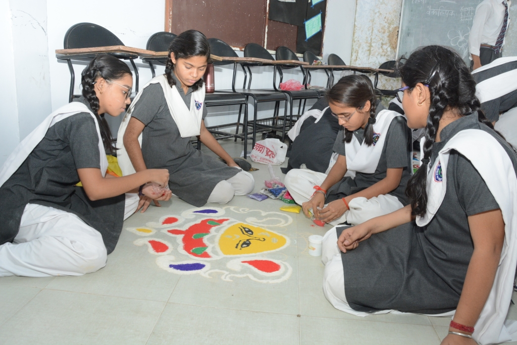 Rangoli Competition 2017